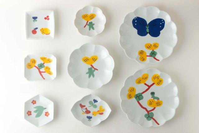 Charlotte Mei plate
